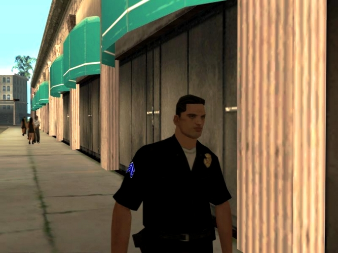 Sergent David Bicks du LSPD.