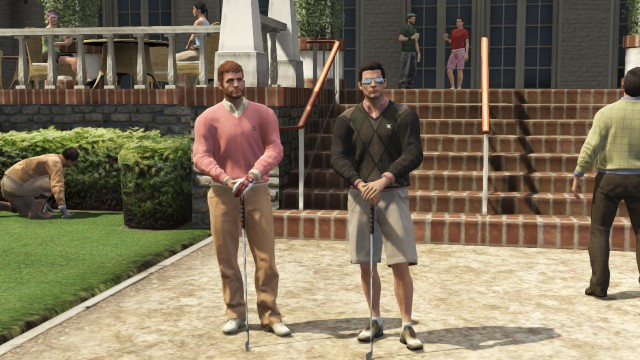 Le club de golf de Los Santos.