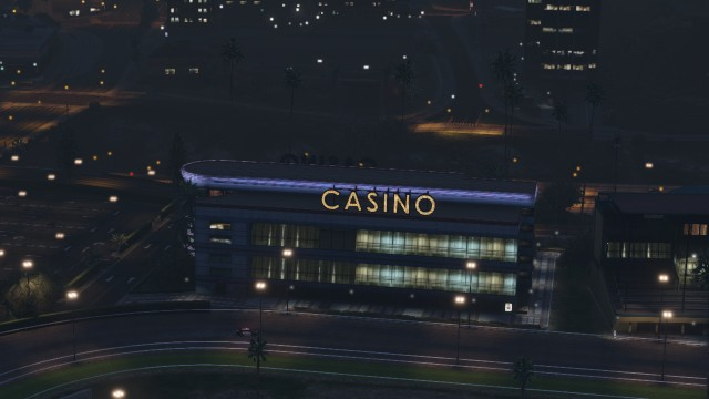 "Le casino ""Be Lucky""."